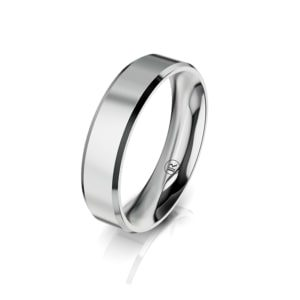 Classic wedding ring for him