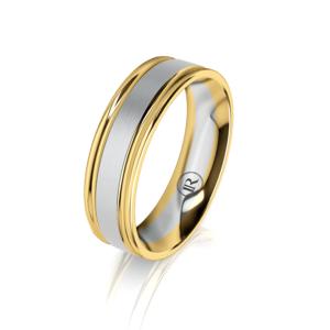 Gold wedding ring for men