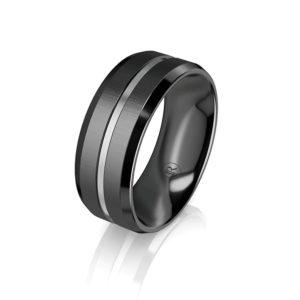 zirconium wedding rings Australia
