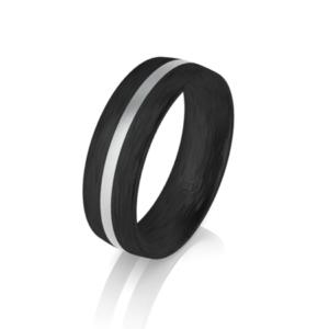 carbon fibre wedding band