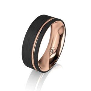 carbon fibre wedding rings