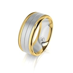 Infinity Gold Rings