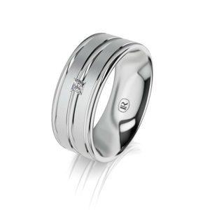 Infinity Gold Wedding Rings