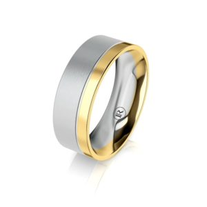 Infinity Gold Rings for Him