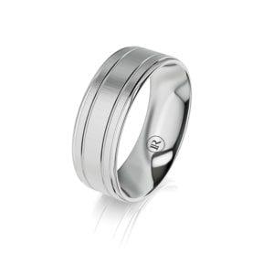 Men's gold wedding ring