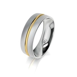 Men's gold wedding bands