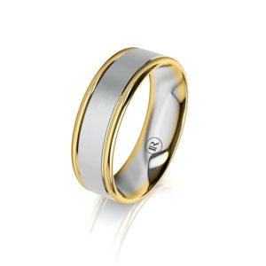Infinity Gold Bands For Him