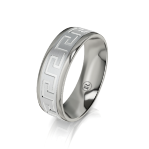 Mens Titanium Ring - IN1004