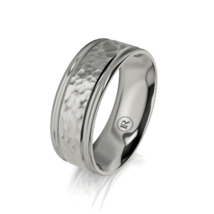 mens titanium rings - IN1076