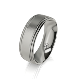 Titanium wedding bands - IN1617